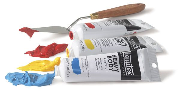 professional grade acrylic paint