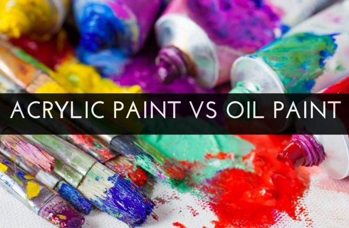 Acrylic Paint vs Oil Paint