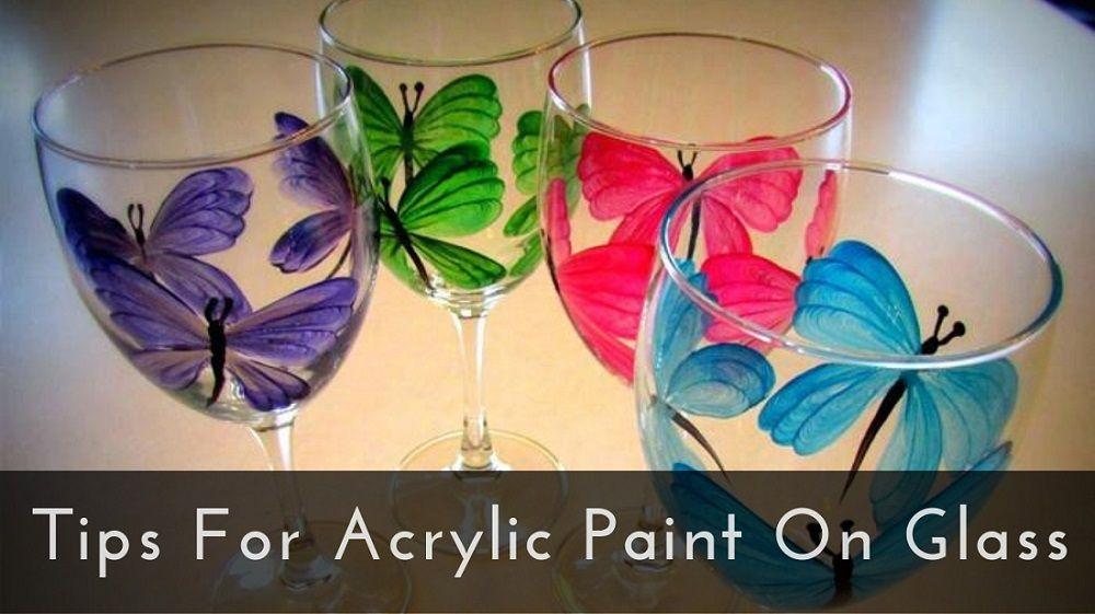 Acrylic Paint On Glass