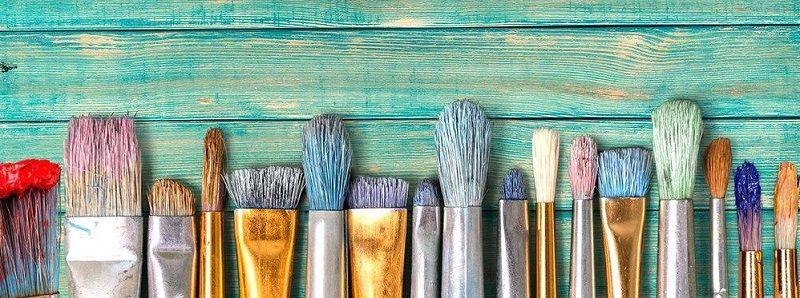 how to clean acryic paint brushes