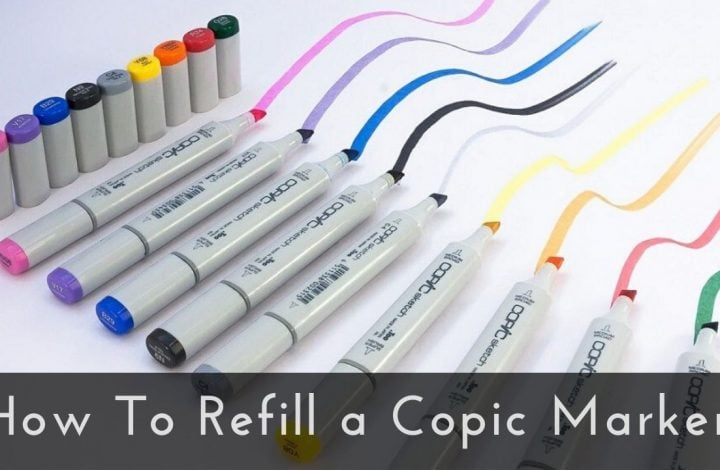 How to Refill a Copic Marker