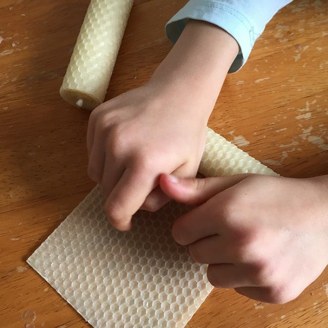 Placing the Wick and Roll
