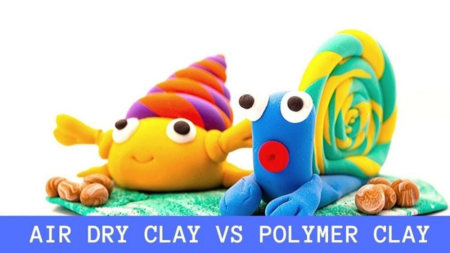 Air Dry Clay vs Polymer Clay