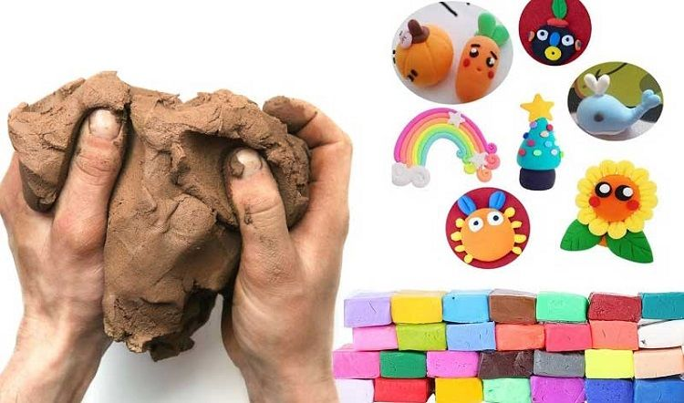 Difference between Polymer Clay and Air dry clay
