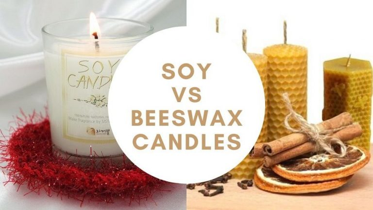 Soy vs Beeswax Candles