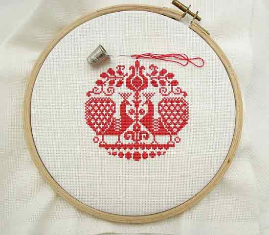 what is cross stitch