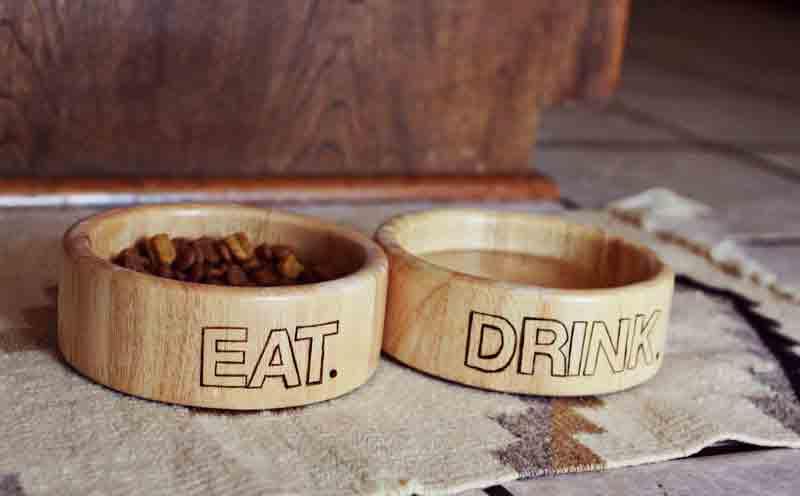 wood burning bowls