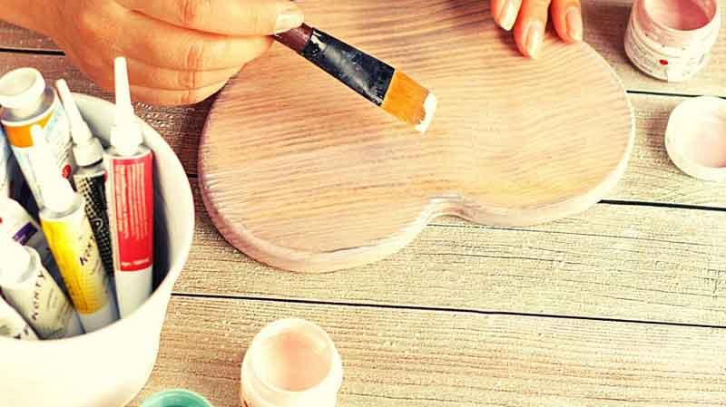 wood craft paints