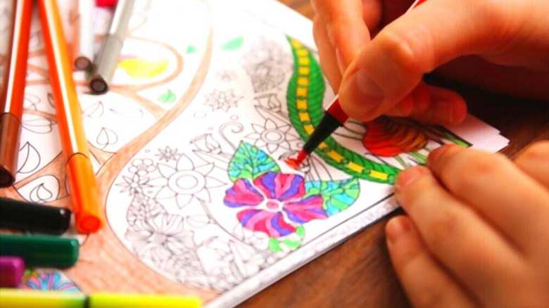 Adult Coloring Book Markers
