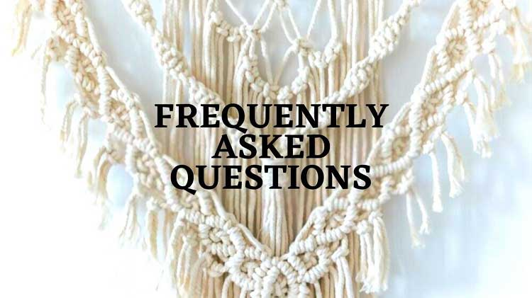 macrame kits faqs